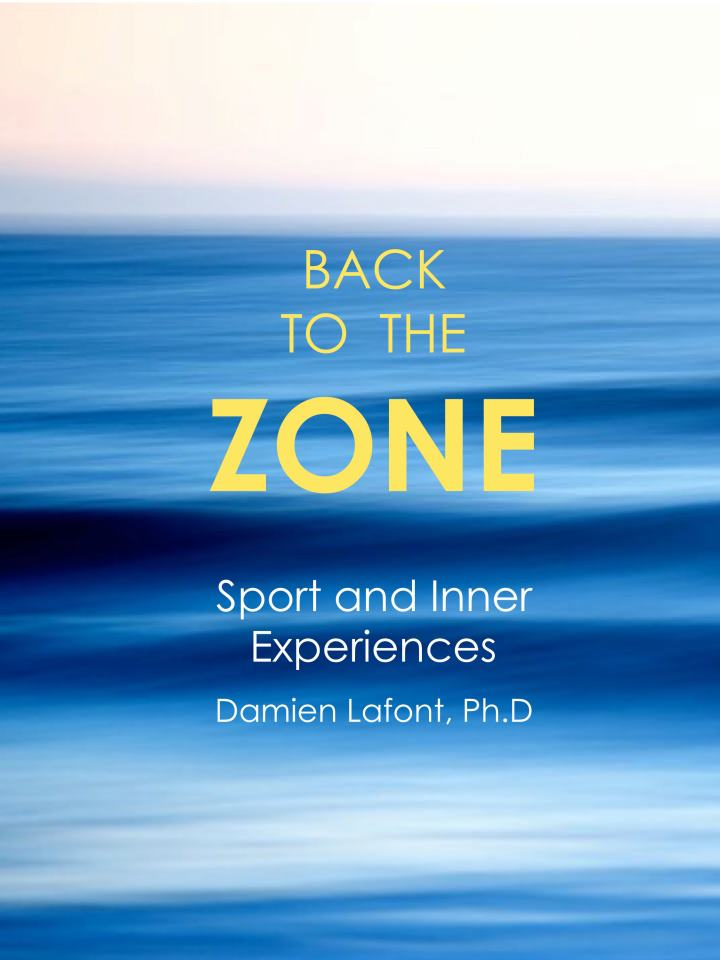 book back to the zone cover